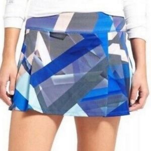 Athleta Electric Geo Sport Speed Skort